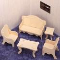 Mebelki 1 -kanapa fotele stoliki