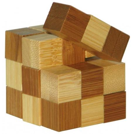 Łamigłówka 3D BAMBOO - Snake Cubes