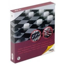 Szachy / Warcaby / Backgammon (wersja magnetyczna)