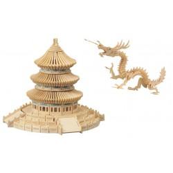 Świątynia i smok -zestaw